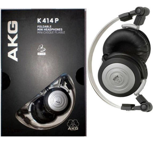 fone de ouvido akg k414 p retorno de palco k414p