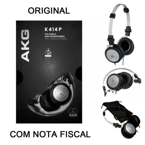 fone de ouvido akg k414 p retorno de palco k414p original