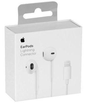 fone de ouvido apple earpods lightning original - lacrado
