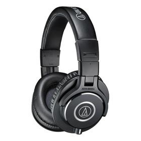 Fone De Ouvido Audio-technica M-series Ath-m40x Preto