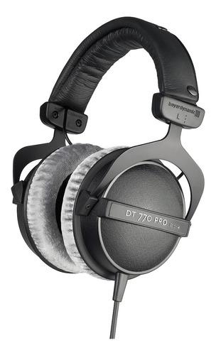 fone de ouvido beyerdynamic dt 770 pro 80 ohms