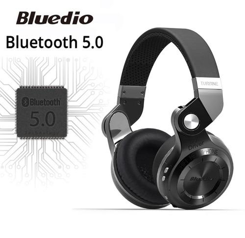 fone de ouvido bluedio t2+turb. bluetooth radio , slot sd