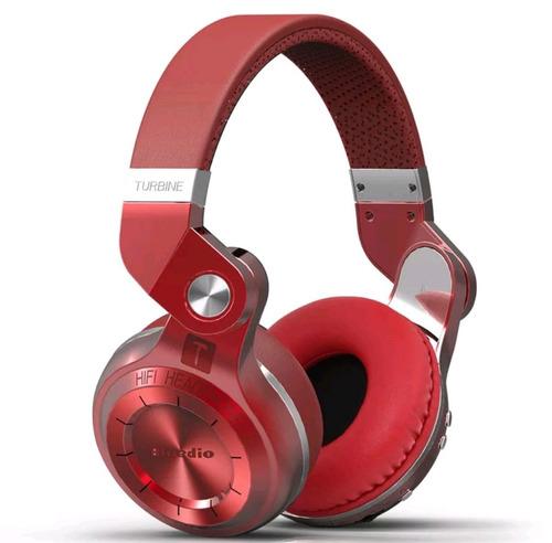 fone de ouvido bluedio t2plus turbine bluetooth 5.0,slot,red