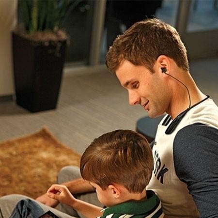 fone de ouvido bluetooth headset esporte sem fio microfone