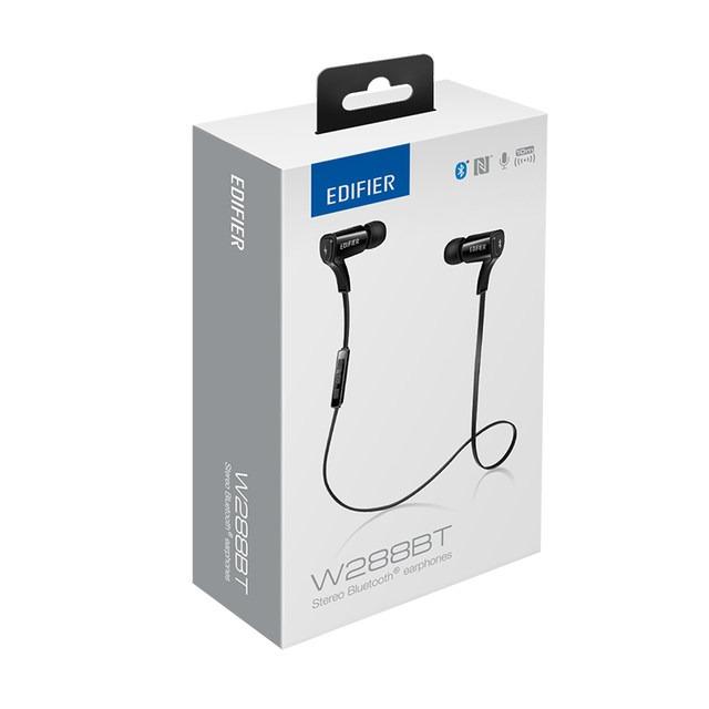 fe3e6d21590 Fone De Ouvido Bluetooth In-ear Edifier W288bt Preto - R  269