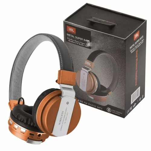 fone de ouvido bluetooth jbl jb55 headphone wireless mp3