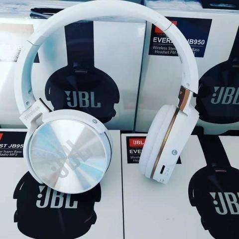 15a51eefe Fone De Ouvido Bluetooth Jbl Jb950 Super Bass Radio Fm Mp3 - R  120 ...