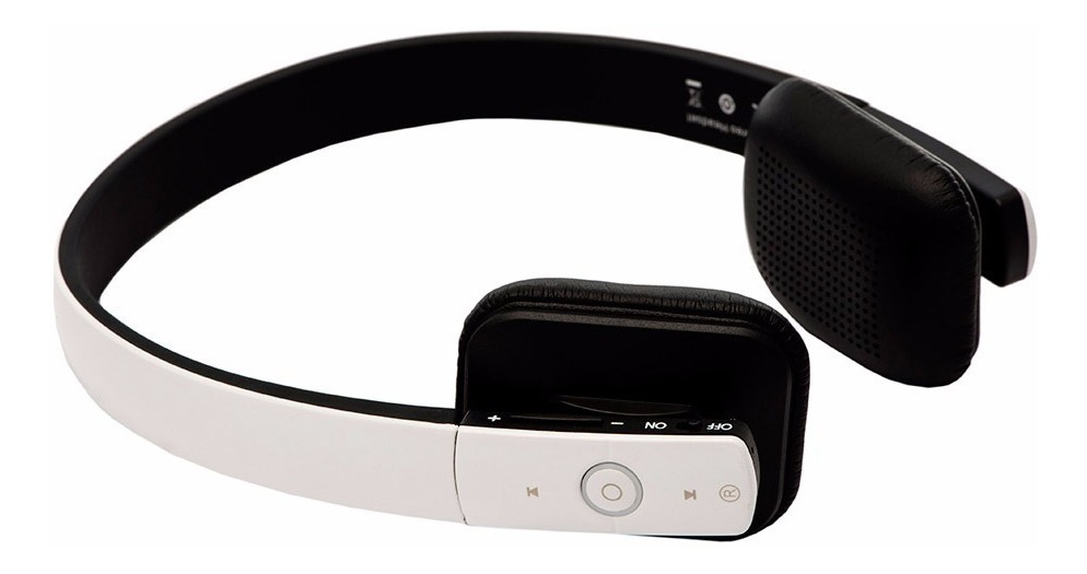 Fone De Ouvido Bluetooth Shock Wave Cor Branca