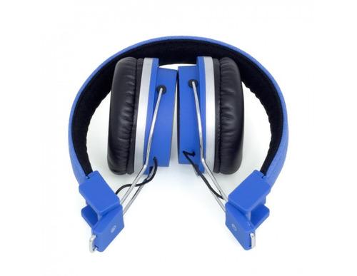 fone de ouvido bomber quake azul reforço de graves p. ent.