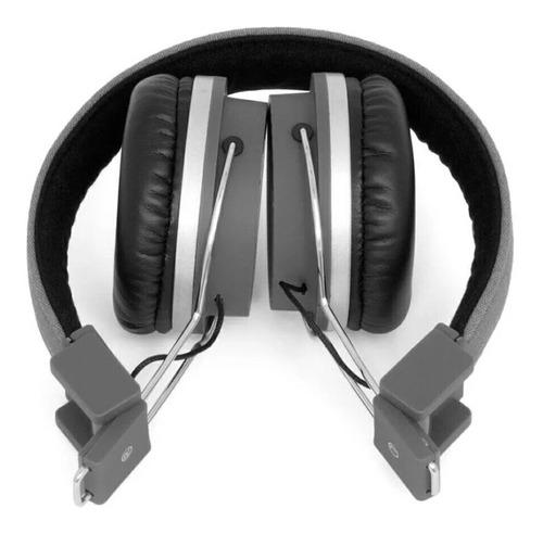 fone de ouvido bomber quake hb02 - preto/azul