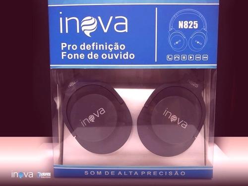fone de ouvido c/ fio - n825 c/ microfone alta precisão