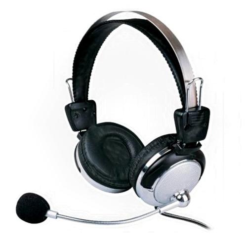 fone de ouvido c/ microfone prata sm-301mv potency