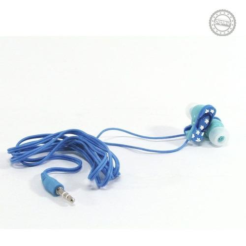 fone de ouvido  chinelo  - azul
