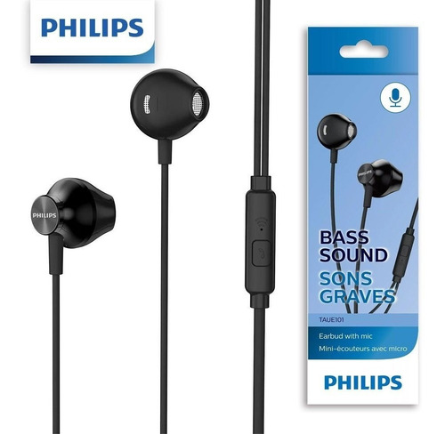 fone de ouvido com microfone philips mod: taue101