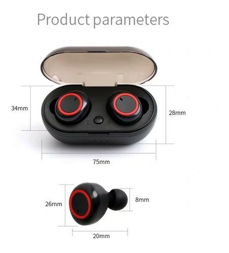 fone de ouvido dual bluetooth 5.0 tws par sem fio duplo air