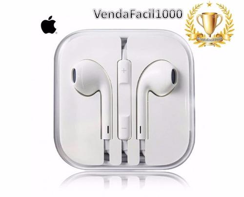 fone de ouvido earpods iphone original natal presente oferta