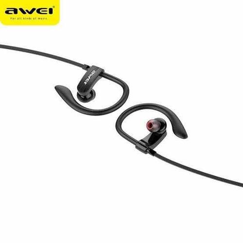 fone de ouvido esporte com fio awei es-160i - potente