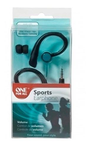 fone de ouvido esportivo com controle de volume