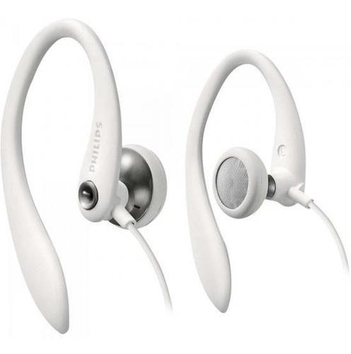 fone de ouvido esportivo p2 estéreo philips shs3300wt/10