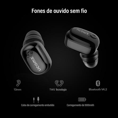 fone de ouvido esportivo sem fio bluetooth android promoção