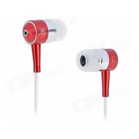 Fone De Ouvido Estéreo Em Liga De Alumínio