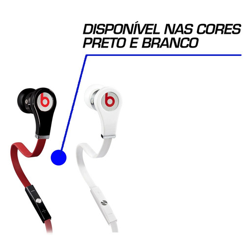 fone de ouvido feminino beatd in ear tour black buds by