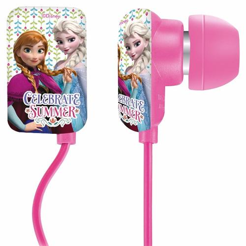 fone de ouvido frozen flat headphone multilaser ph125