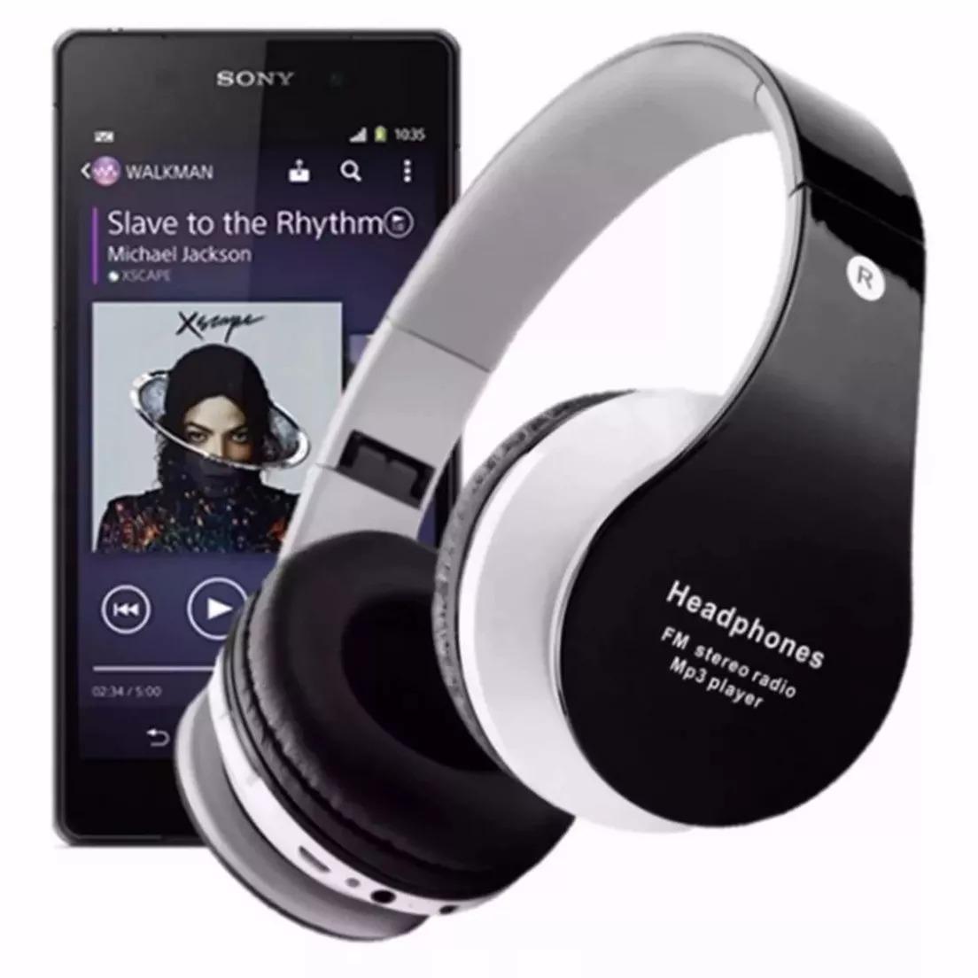 e9785a160 fone de ouvido headphone bluetooth sem fio micro fm. Carregando zoom.