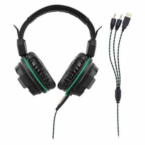 fone de ouvido headphone gamer warrior led ph143 multilaser