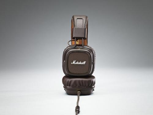 fone de ouvido headphone marshall major ii marron
