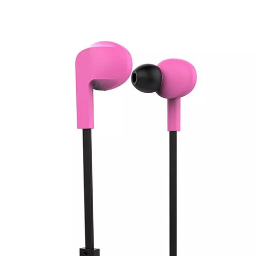 fone de ouvido headphone multilaser ph262 - c/bluetooth rosa