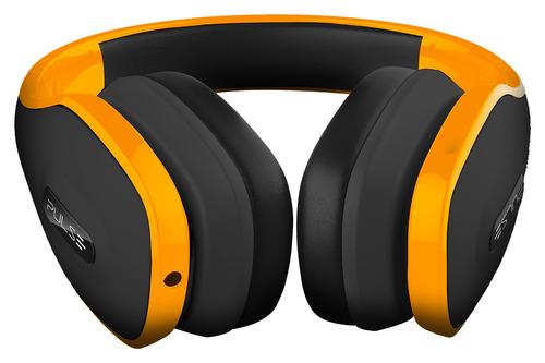 fone de ouvido headphone pulse amarelo ph148 overear estereo