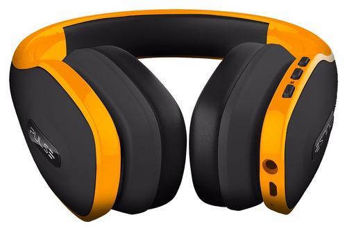 fone de ouvido headphone pulse bluetooth amarelo ph151