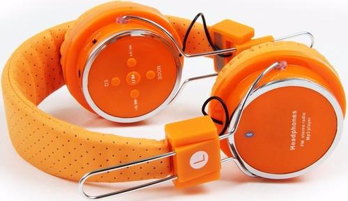 fone de ouvido headphone sem fio bluetooth micro sd fm b-05