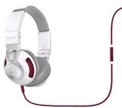 fone de ouvido headset jbl s300a branco/vermelho usado