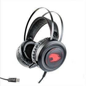 Fone De Ouvido Headset Led  C/ Microfone - Gamer Usb