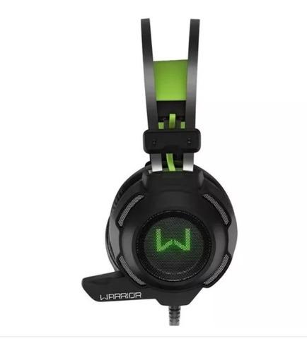 fone de ouvido headset warrior gamer arco usb e p2 ph225