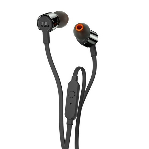 fone de ouvido in ear jbl t210 preto com microfone original