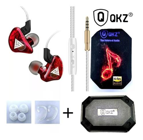 fone de ouvido in ear qkz ck5 pro retorno de palco gamer