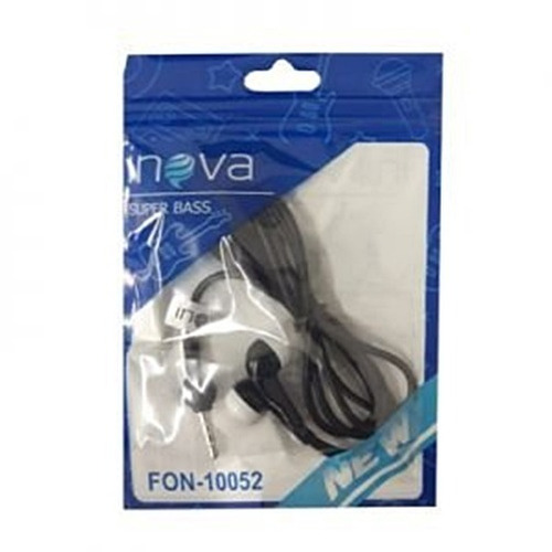 fone de ouvido inova original com microfone atacado