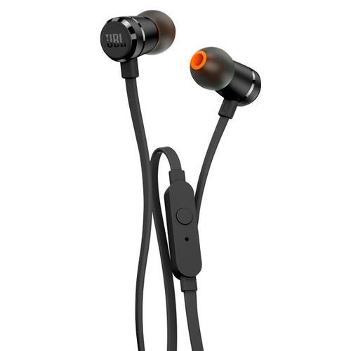 fone de ouvido intra auricular com microfone jbl t290 preto