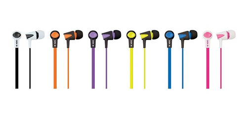 fone de ouvido intra auricular microfone laranja fn203 oex