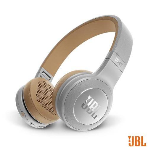 fone de ouvido jbl duet bt headphone cinza - jblduetbt