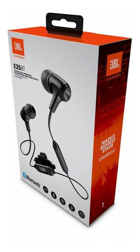fone de ouvido jbl e25 bt bluetooth e25bt preto microfone