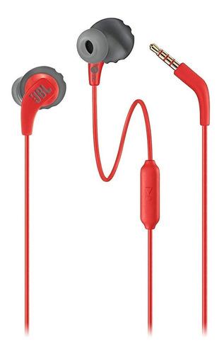 fone de ouvido jbl endurance run vermelho