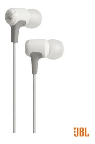 fone de ouvido jbl in ear intra-auricular branco - jble15wht