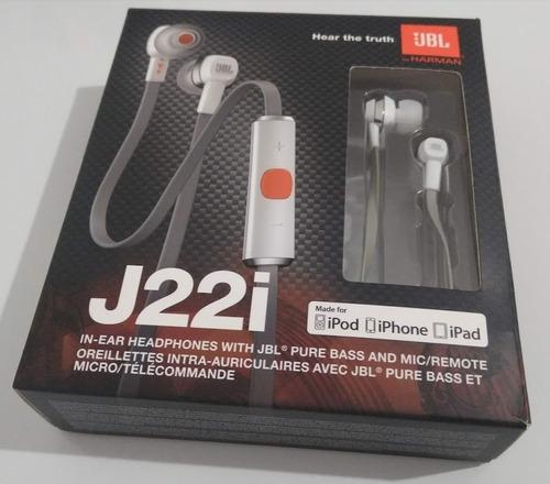 fone de ouvido jbl j22i