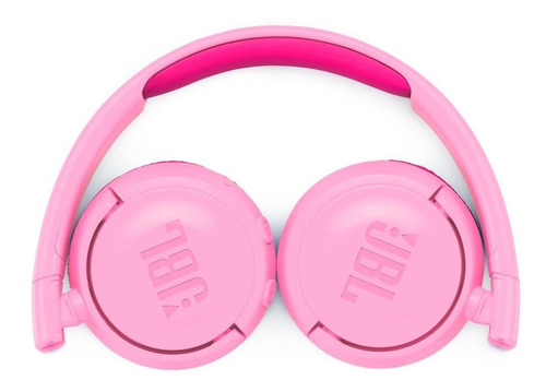 fone de ouvido jbl jr300bt pink bluetooth infantil kids rosa