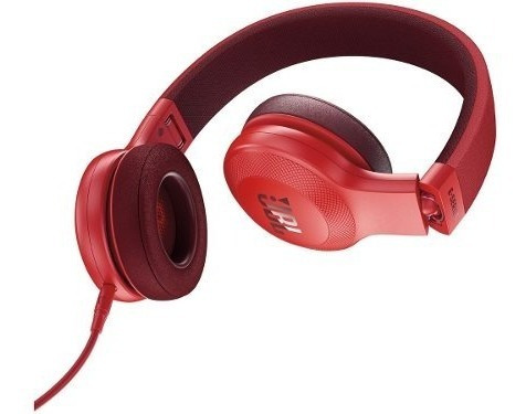 fone de ouvido jbl  + microfone jbl e35 red 28910699
