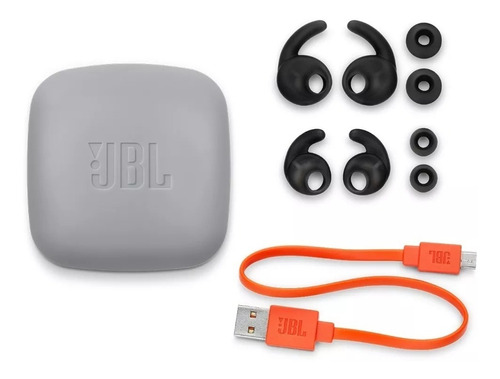 fone de ouvido jbl reflect mini bt 2 bluetooth sport preto